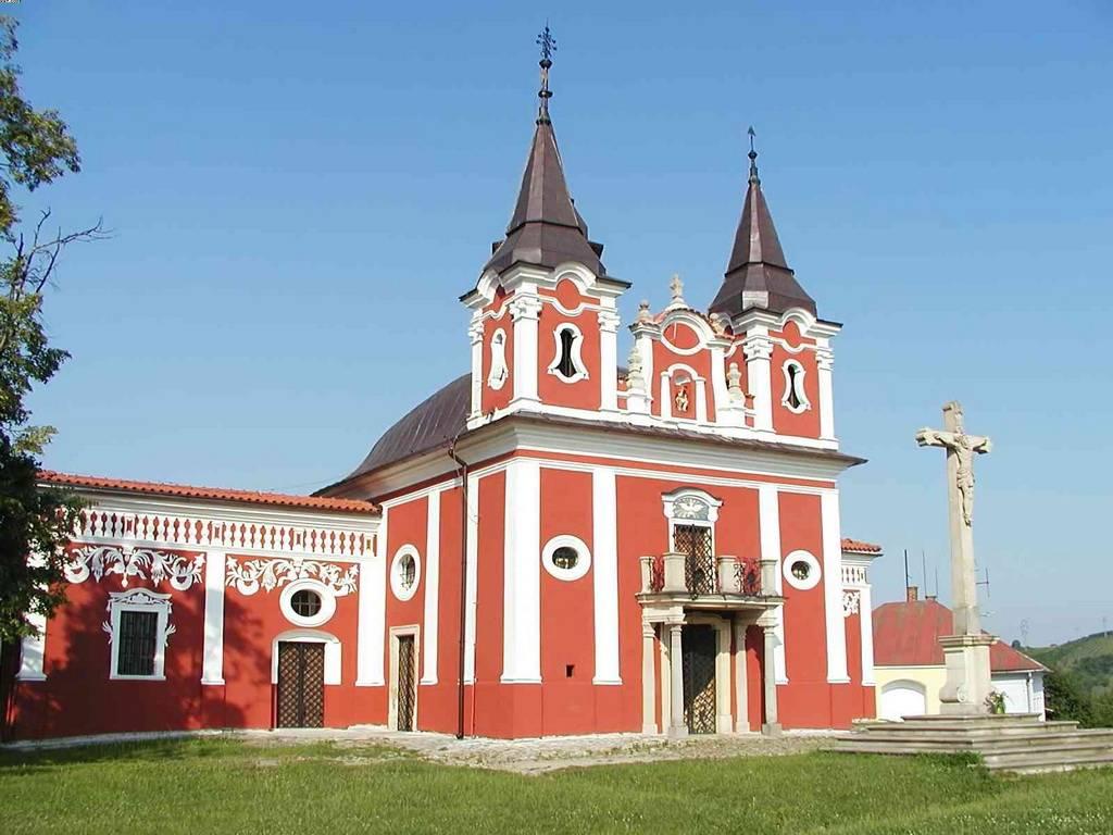 Prešov - kalvária - exteriér