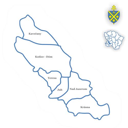 Dekanát Košice - Stred