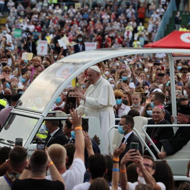 Svedectvá na stretnutí mladých s pápežom Františkom