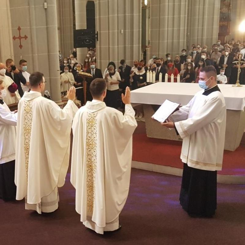 Kňazská vysviacka  v Košickej katedrále  2021