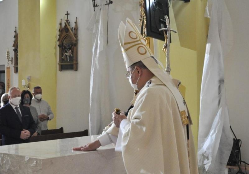 Konsekrácia kostola v Obišovciach