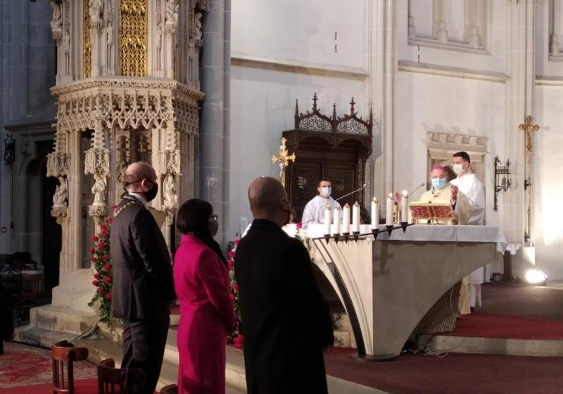 Prvé výročie vyhlásenia  sv. Alžbety za patrónku mesta Košice