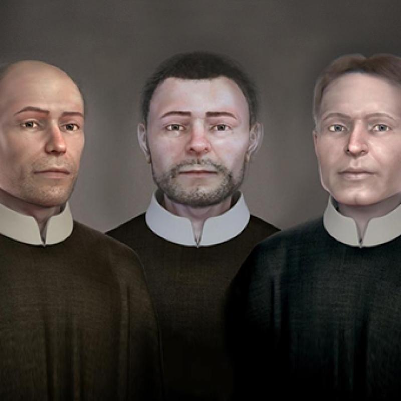 Tváre Svätých košických mučeníkov