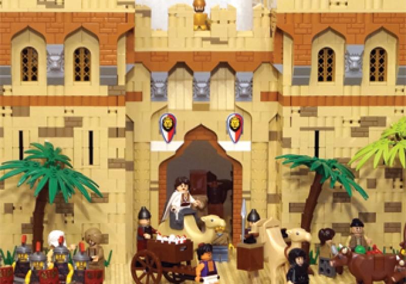 Výstava Betlehema z LEGA pre deti v Košiciach do konca roka