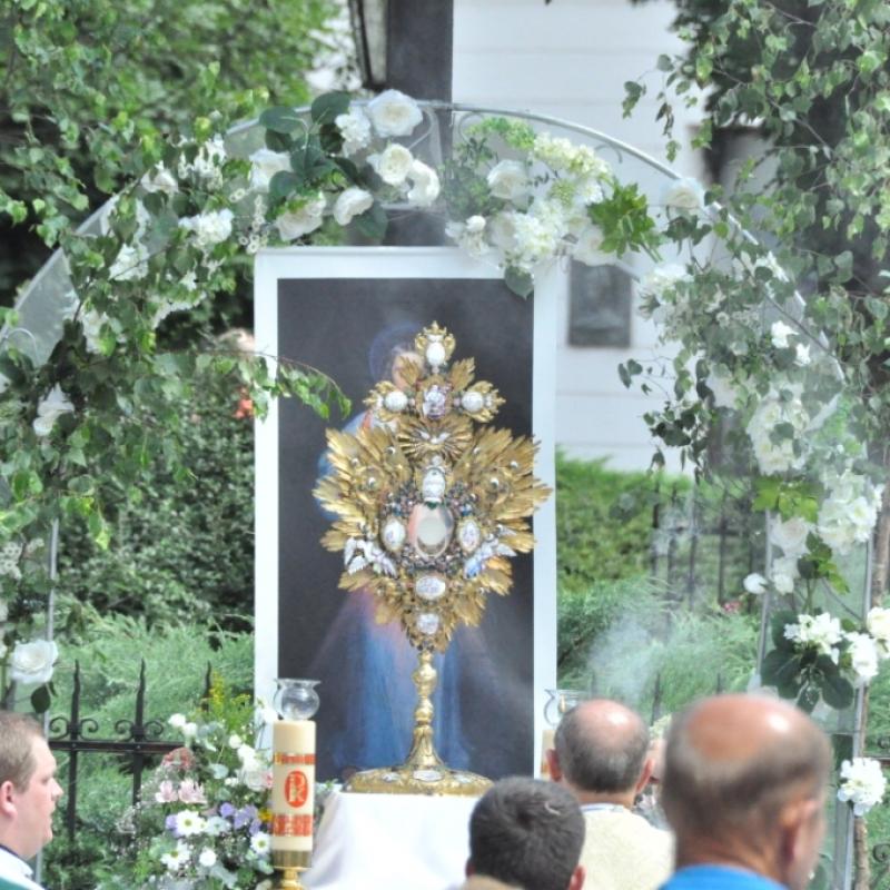 Eucharistická procesia v Košiciach