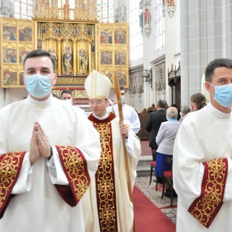 Diakonská vysviacka v arcidiecéze