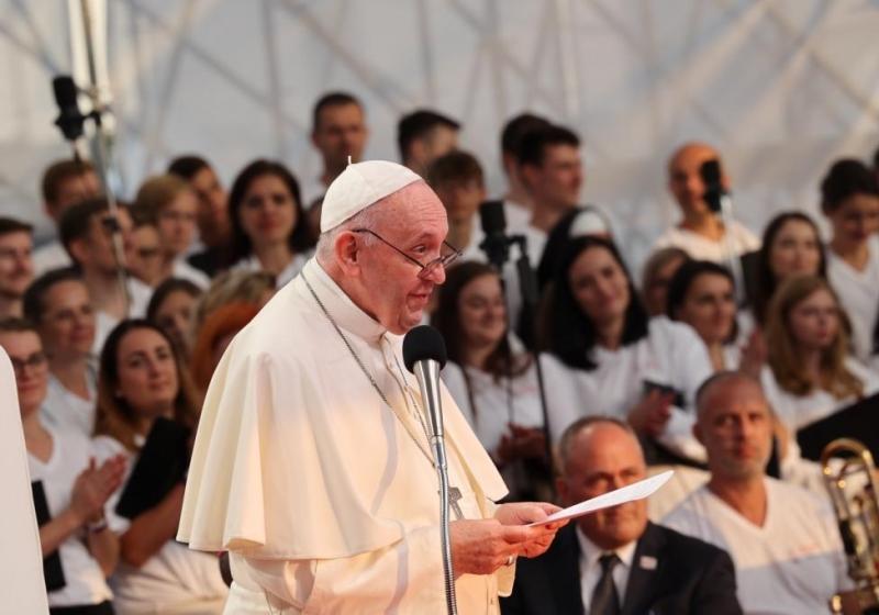 Príhovory Svätého Otca Františka na Slovensku