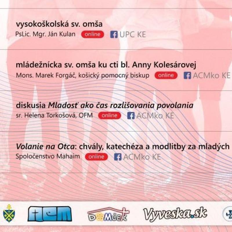 Týždeň Cirkvi pre mladých v Košiciach