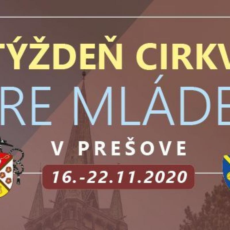 Týždeň Cirkvi pre mládež v Prešove