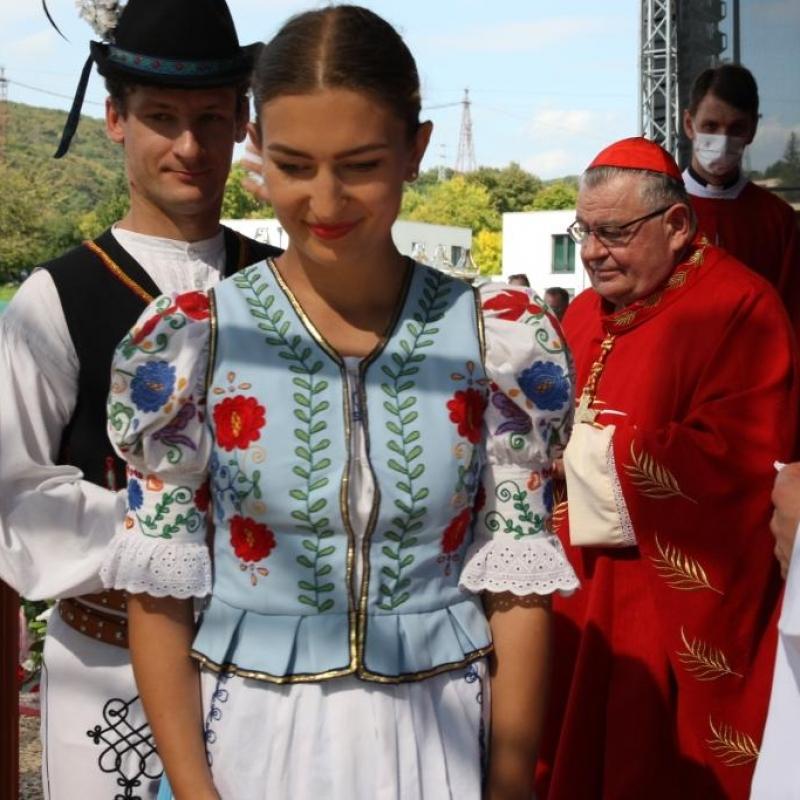 Sv. omša s kardinálom Dominikom Dukom OP, pražským arcibiskupom