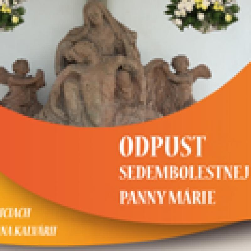 Odpustová slávnosť na Košickej Kalvárii - 14. - 15. september 2019