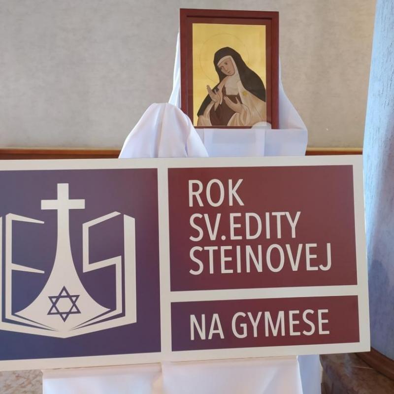 Otvorenie roka sv. Edity Steinovej
