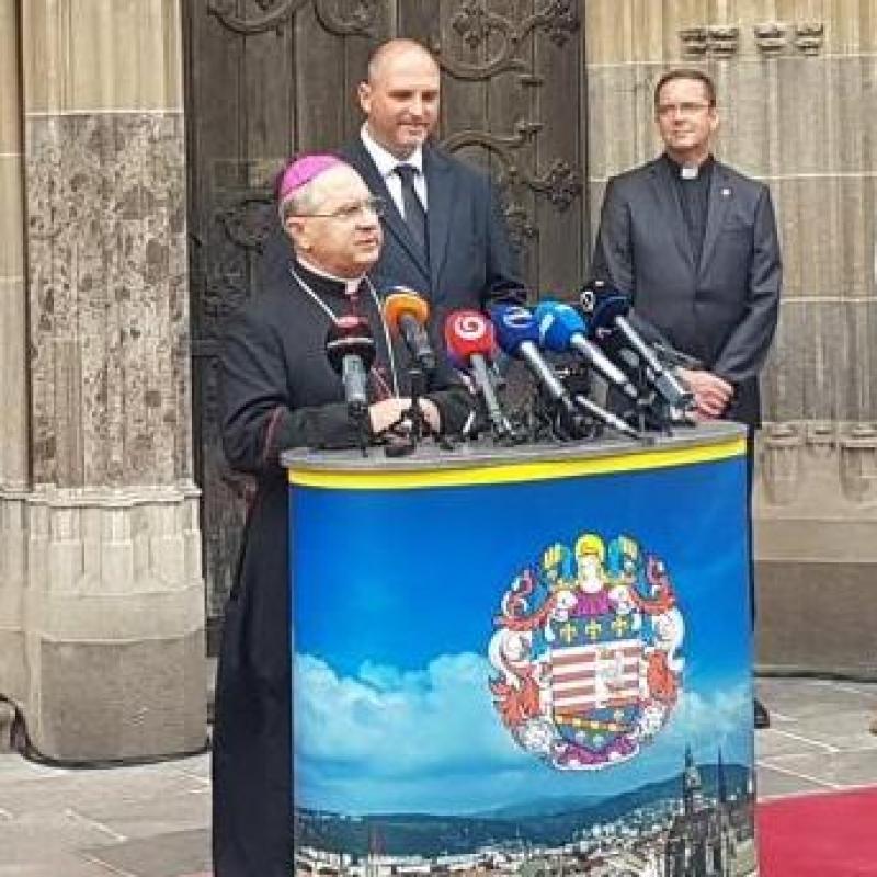 Košice sa pripravujú na návštevu Sv. Otca Františka