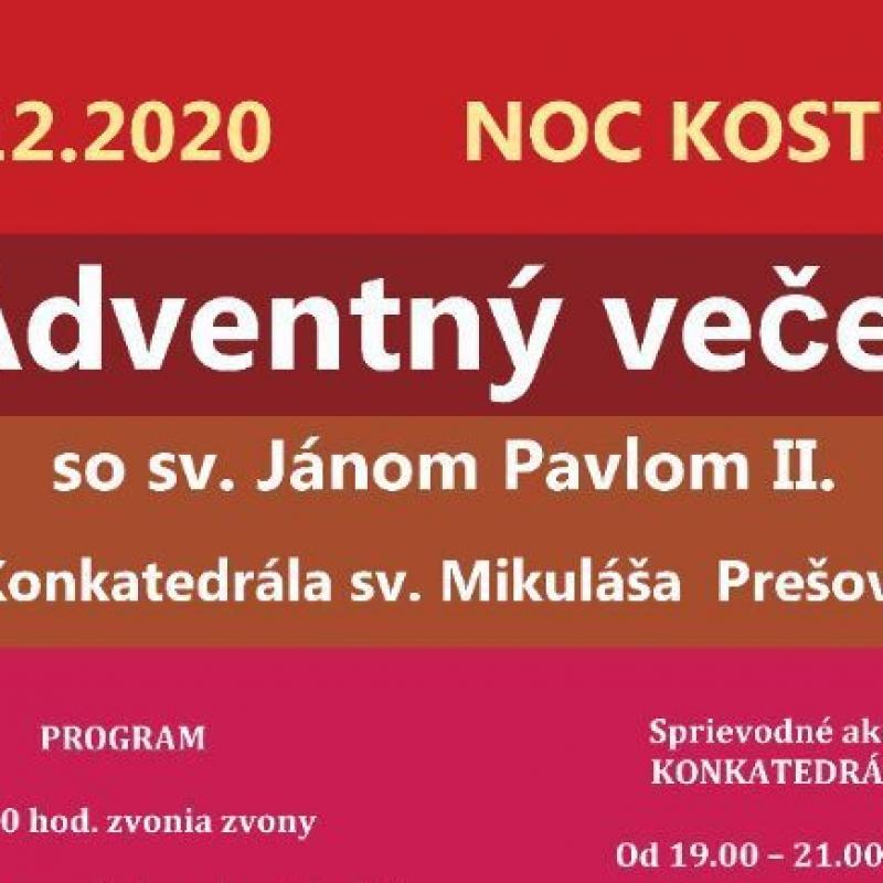 Adventný večer v Prešove