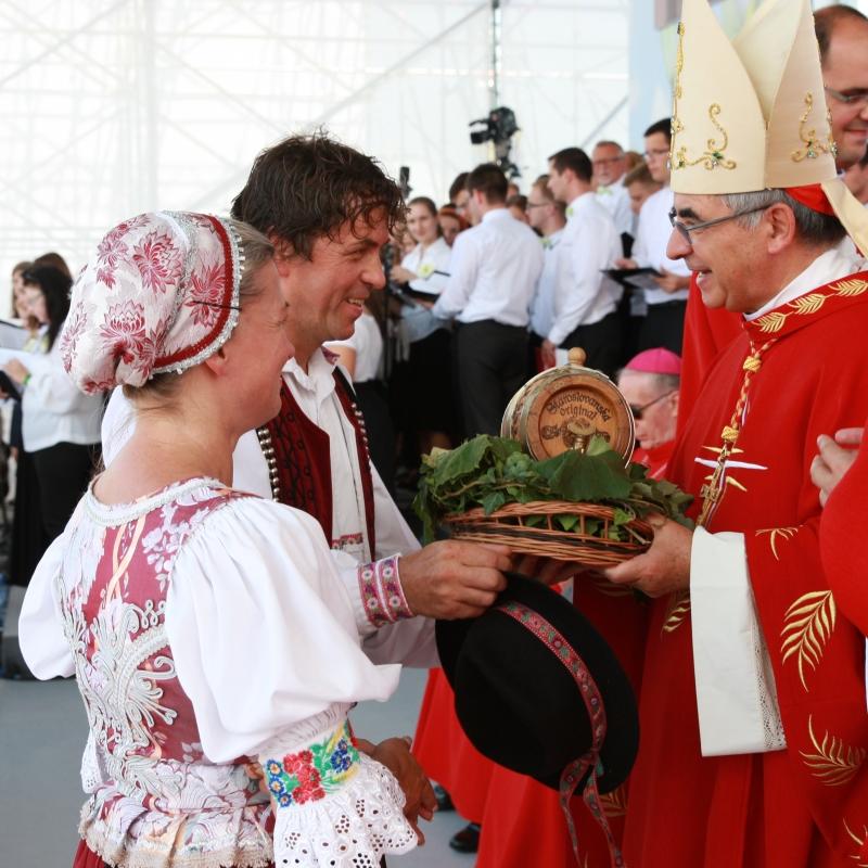 Slávnosť blahorečenia Anny Kolesárovej