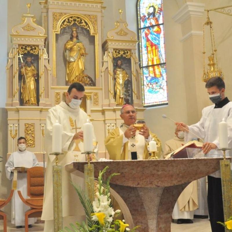 Posviacka kostola v Terni
