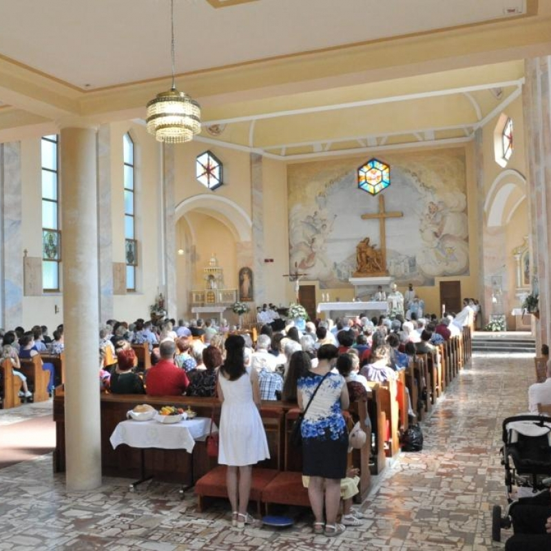 Päťdesiat rokov kostola v Záhradnom
