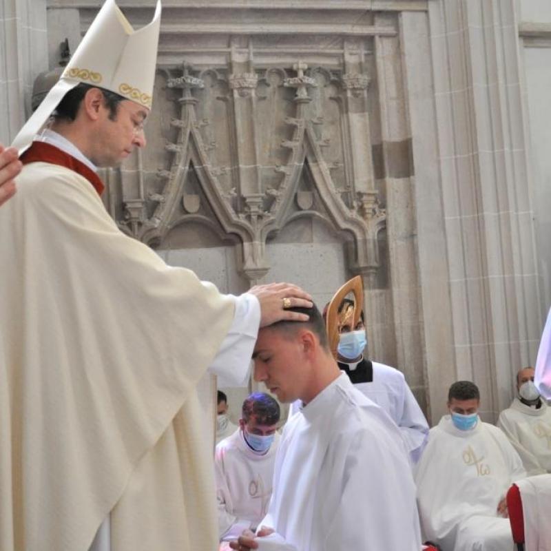 Štyria noví diakoni v Košickej arcidiecéze