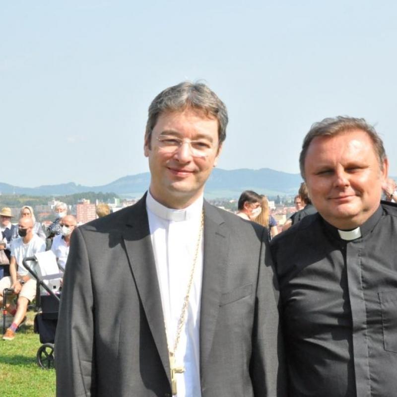 Slávnosť na Prešovskej kalvárii