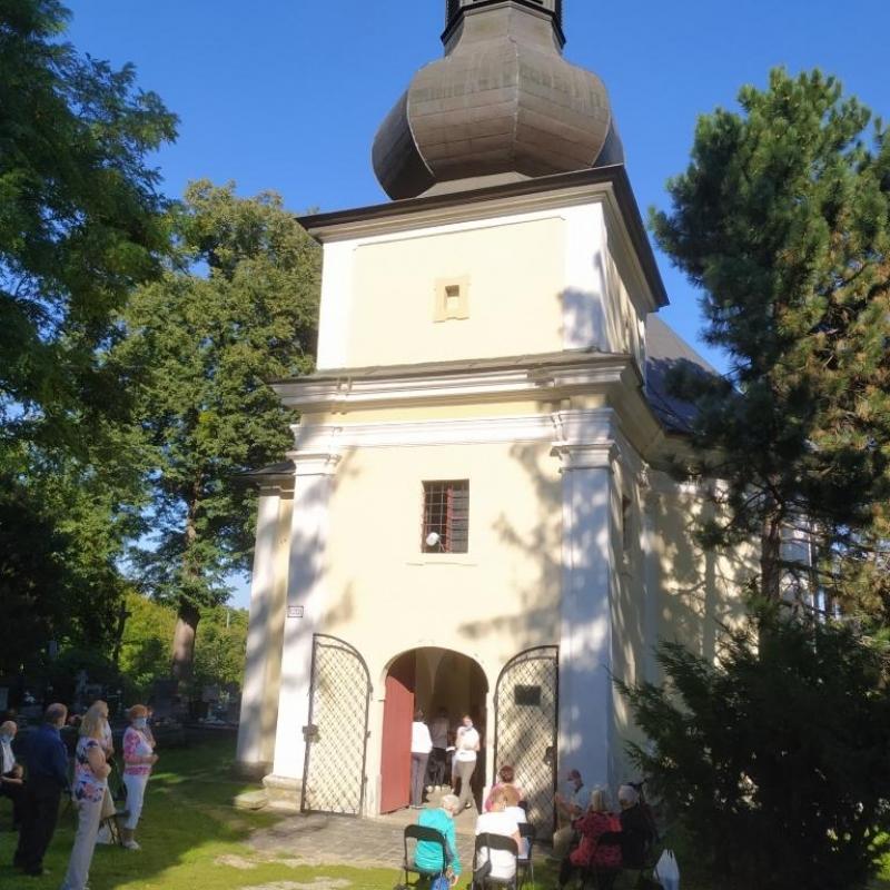 Relikvie Svätej Rozálie uložili v morovej kaplnke