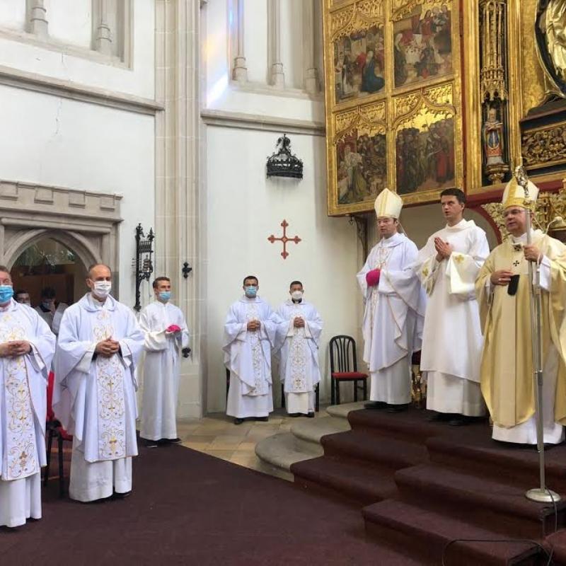 Arcibiskup Bernard Bober si pripomenul 10. výročie pastierskej služby