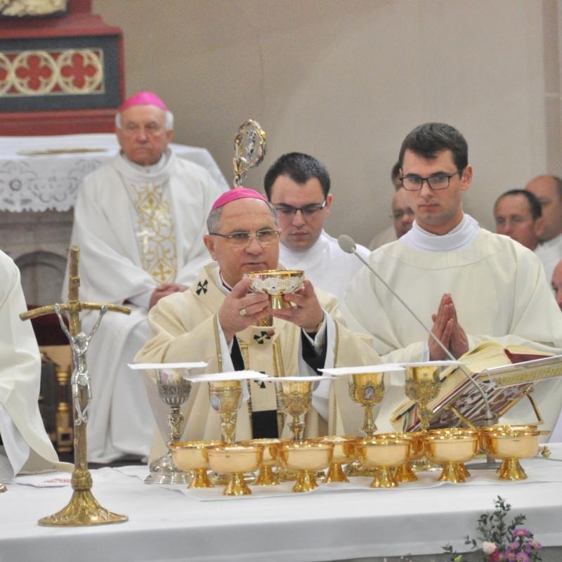 Missa chrismatis  v košickej katedrále 2019