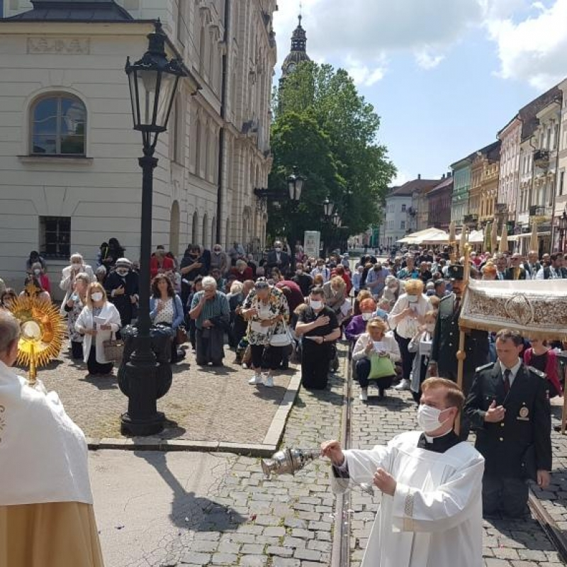 Eucharistický sprievod mestom Košice
