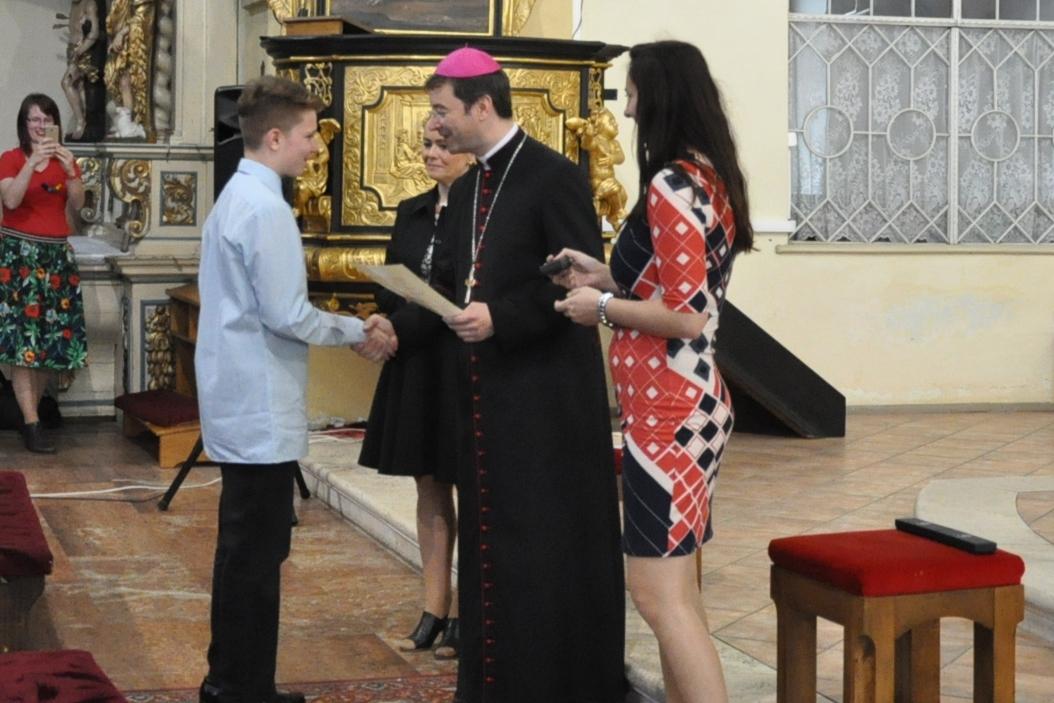 Ocenenie žiakov cirkevných škôl v arcidiecéze