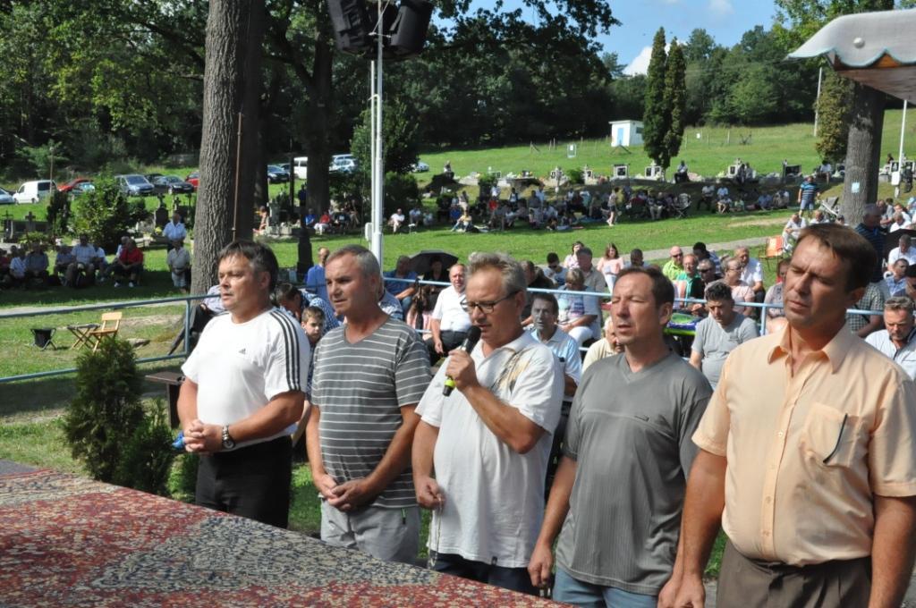 Celoslovenská púť mužov  v Gaboltove